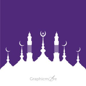 Mosque Design Free Vector File