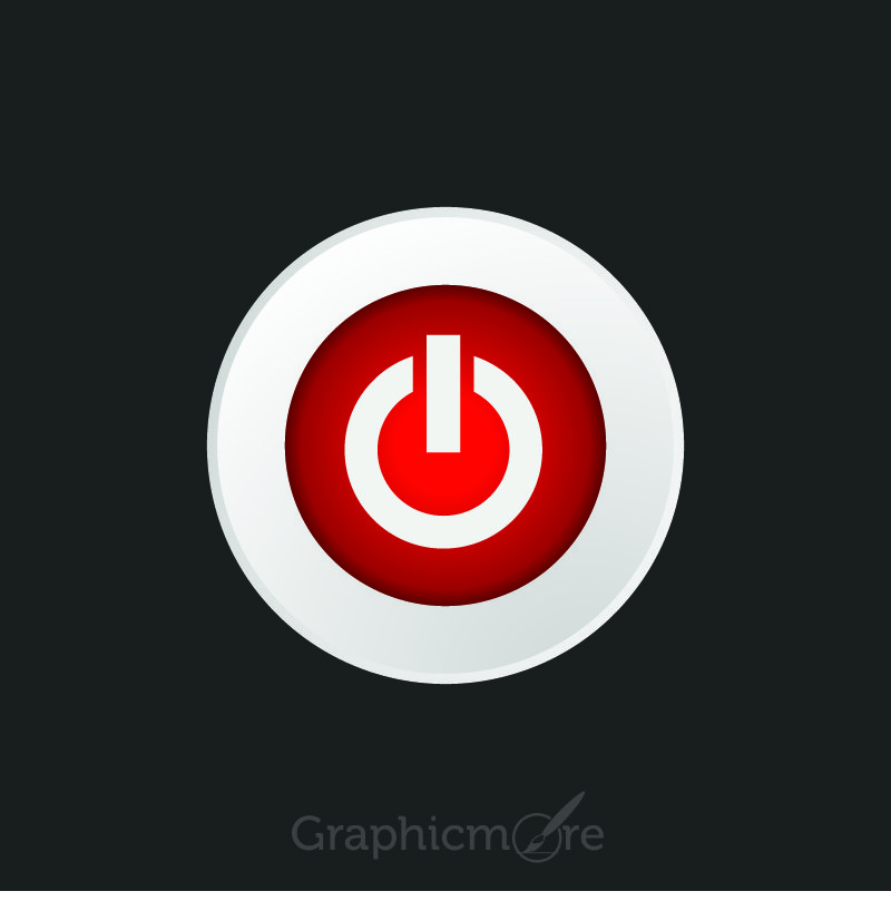 Off Button Design Free Vector File