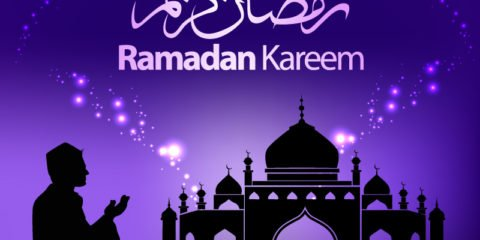 Ramadan Kareem Greeting Card Design by GraphicMore