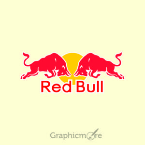 Red Bull Logo Design Free Vector File