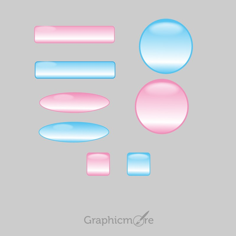 Shiny Vector Shapes Free Download