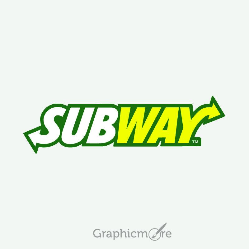 Subway Logo Design Free Vector File