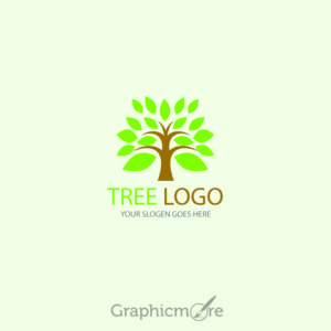 Tree Logo Design Template Free Vector File by GraphicMore