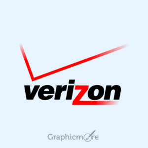 Verizon Logo Design Free Vector File