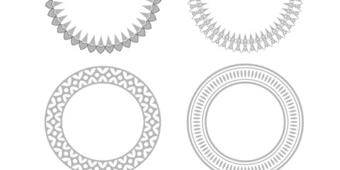Decorative Shapes Vector File