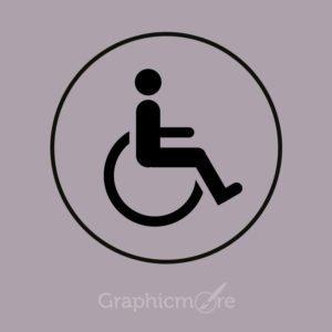 Handicap PSD Template Free Download
