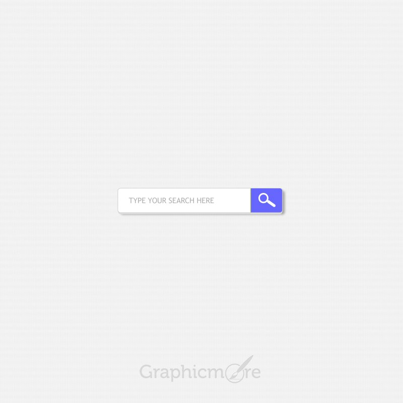 Quick Search Form Free PSD template