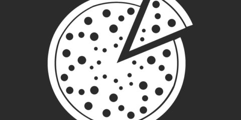 Pizza Icon Design Free Vector File