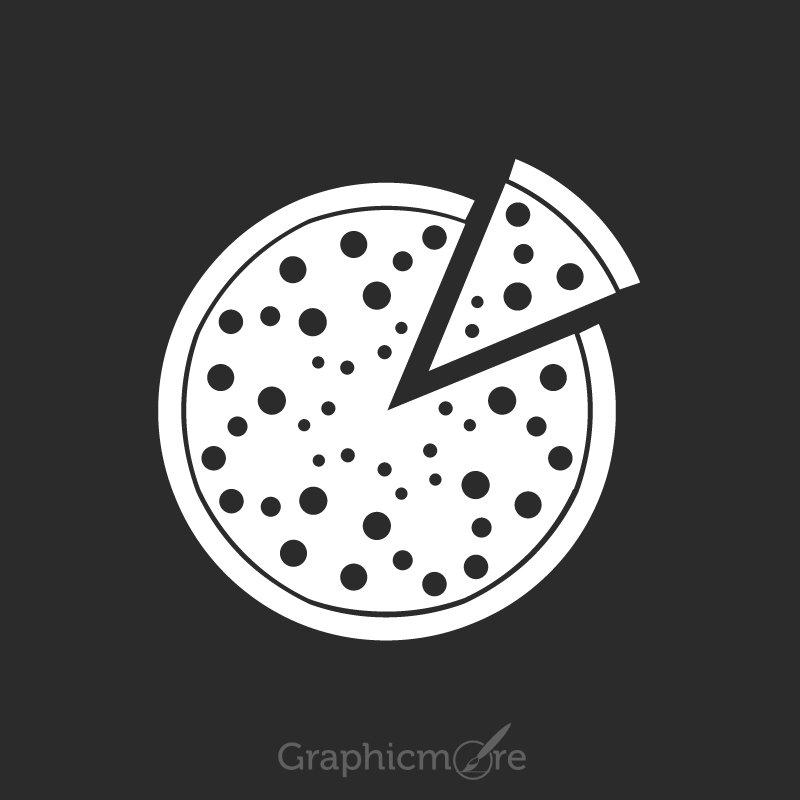 Pizza Icon Design Free Vector File