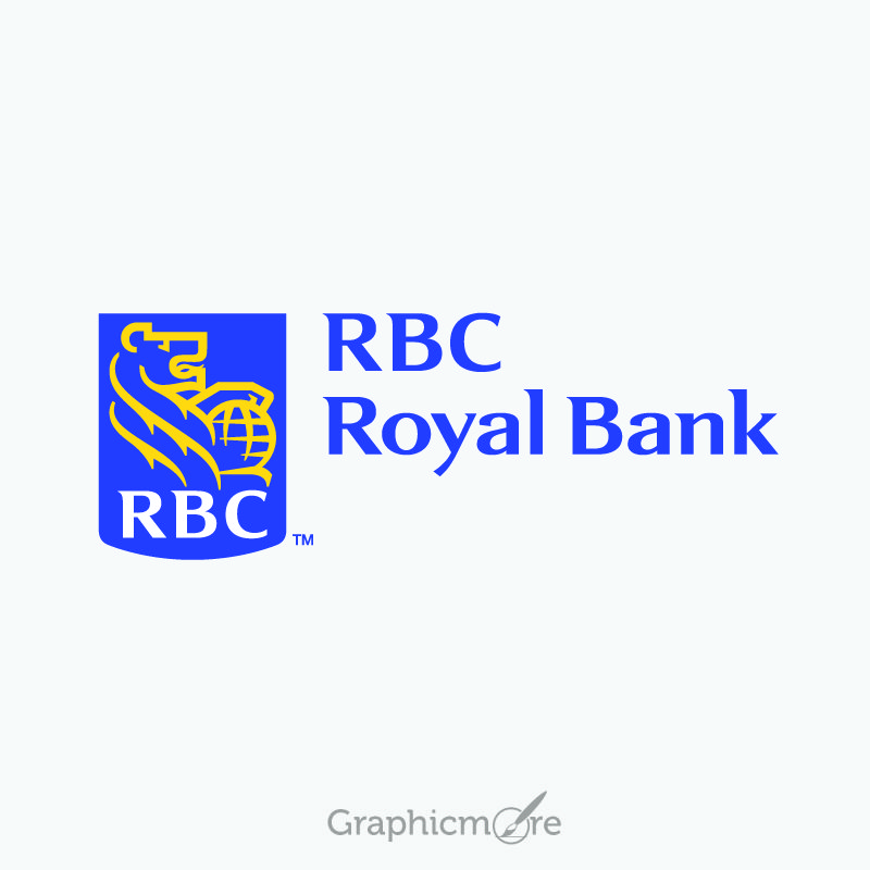rbc royal bank logo design free vector file