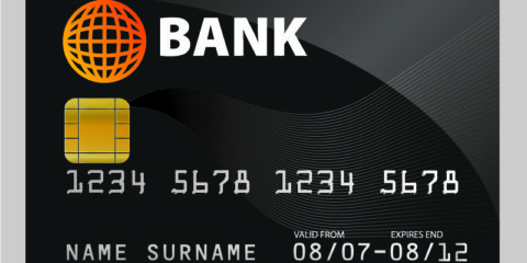 Sample Credit Card Design Free Vector File