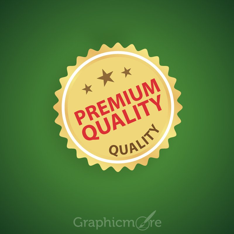Shiny Golden Sale Promotion Badge Design Free Vector File