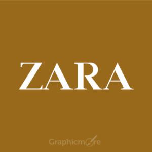 Zara Logo Design Free Vector File