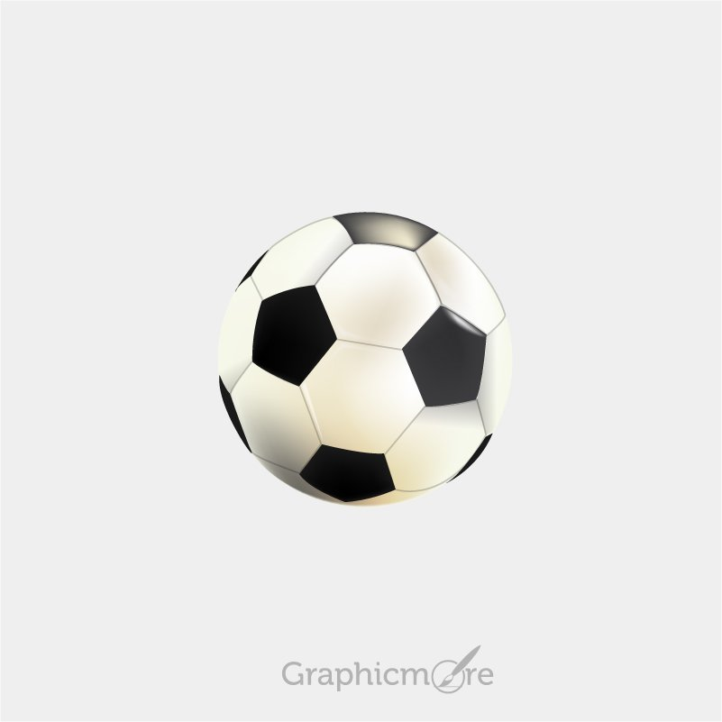 Soccer Ball Design Free Vector File