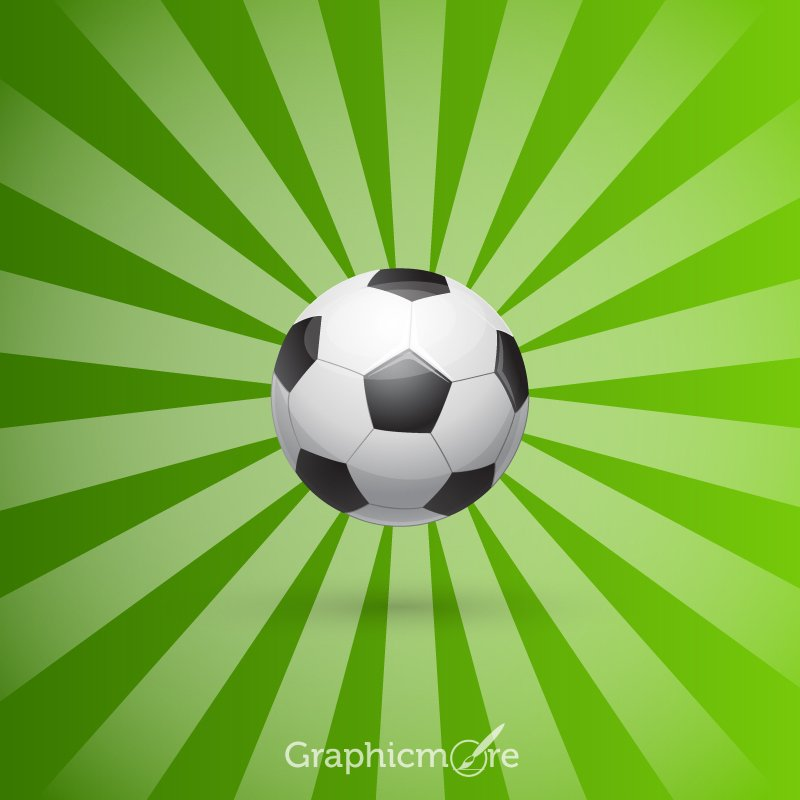 Soccer Design Free Vector File