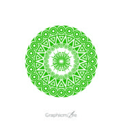 Tribal Mandala Shape Design Free Vector File