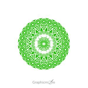 Tribal Mandala Shape Design Free Vector File