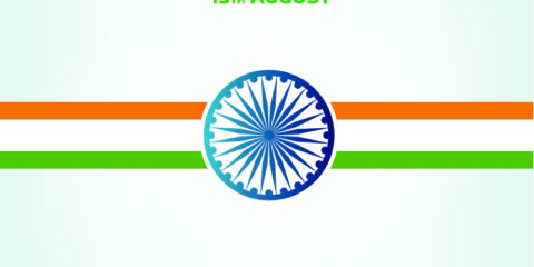 15th August India Independence Day Banner Design Free Vector File
