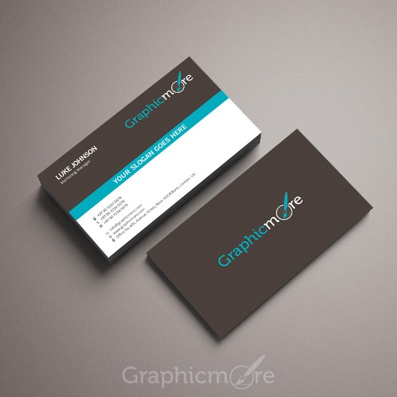 Creative Elegant Business Card Template Design Free Psd File