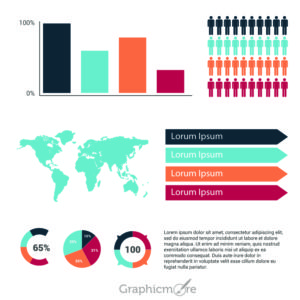 Infographic Elements Set Design Free Vector File by GraphicMore