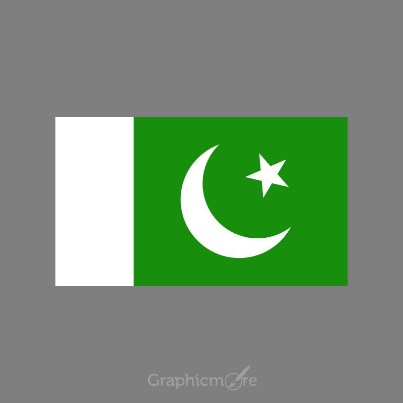 Pakistani Flag Design Free Vector File