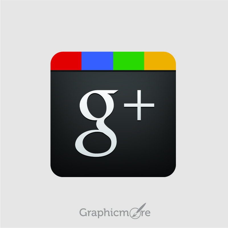 Google Plus Icon Free Vector Design