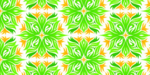 Green Yellow Background Pattern Design Free Vector Download