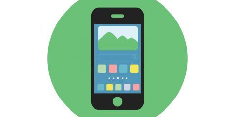 Mobile Icon Design Free PSD Download