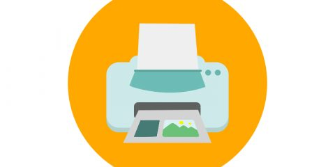 Printer Icon Design Free PSD Download
