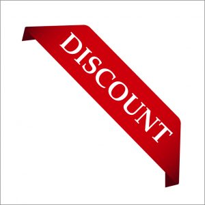 Red Discount Sticker Design Free Vector File Download
