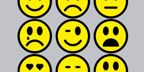Simple Smiley Icons Collection Design Free Vector File Download