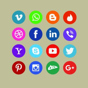 Social Media Icon Pack Design Free Vector File Download