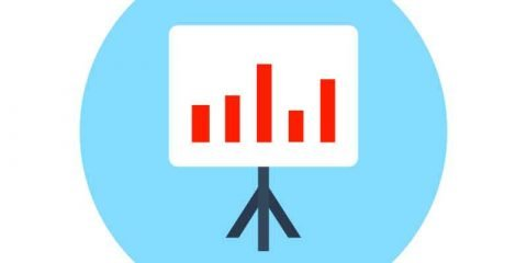 Analytics Graph Infographic Icon Design Free Vector