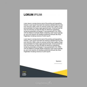 Creative Letterhead Design Template Free Vector Download