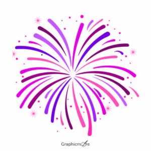Fireworks shape design free vector download