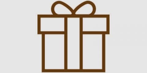 Gift Box Pack Icon Design Free Vector Download