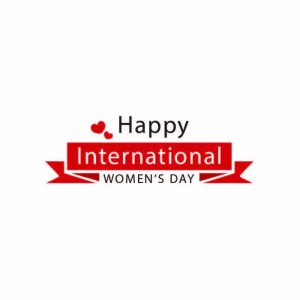 Happy International Womans Day Logo Design Vector Download
