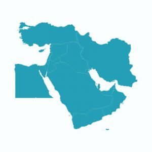 Middle East Vector Map Design Free Download