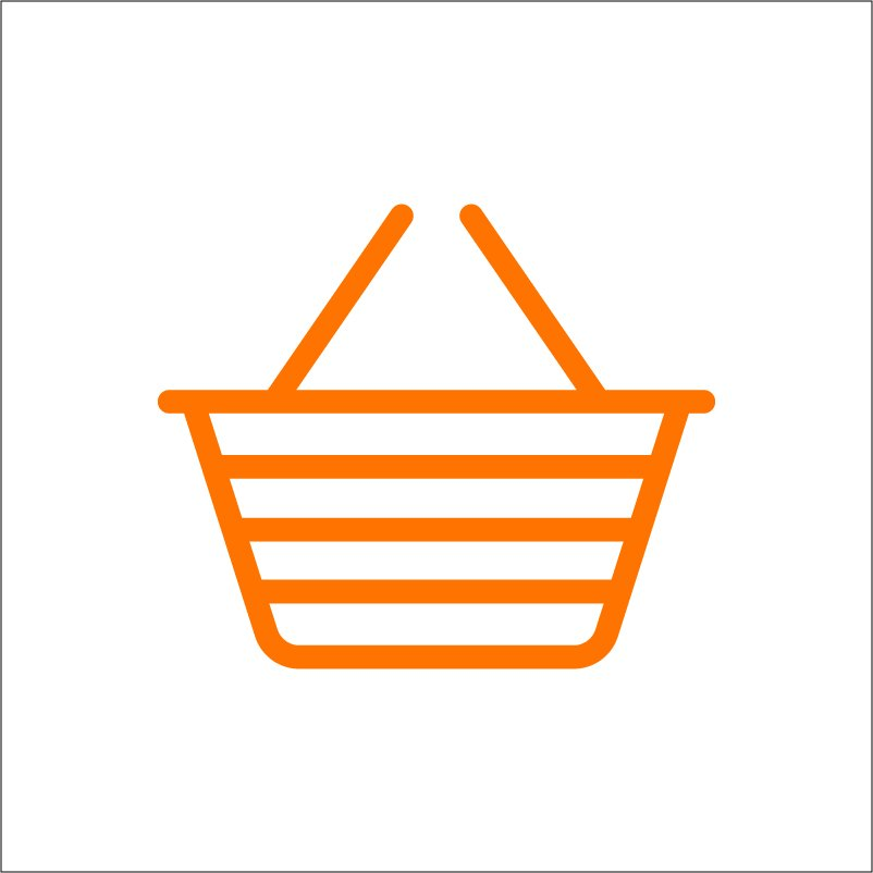 Shopping Basket Icon Design Free Vector Download