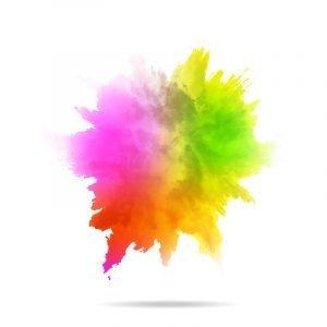 Watercolor explosion vector background design free download