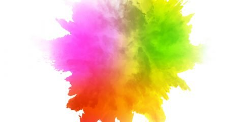 Watercolor explosion vector background design free download