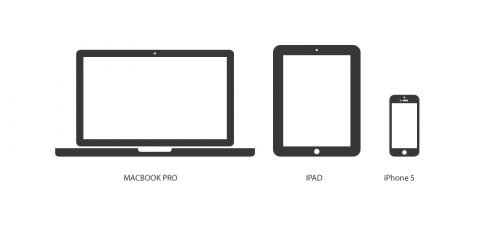 Apple Devices Mockup Design Free PSD Download