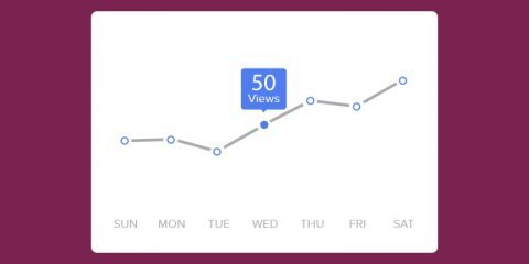 Business & Finance Free Graph Chart PSD Design