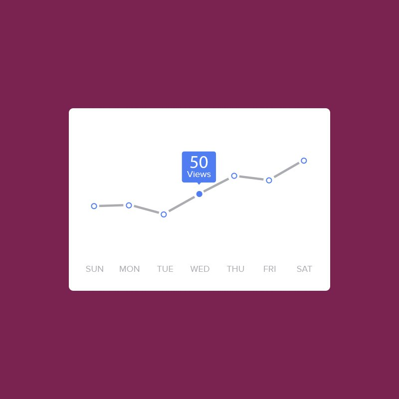 Business & Finance Free Graph Chart PSD Design