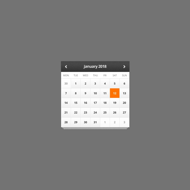 Calendar Mockup PSD Template Design Free Download