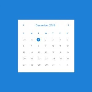 Free Calendar Template Mockup Design PSD Download