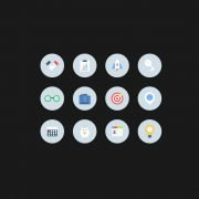 Free Flat Business Vector Icons Design Download