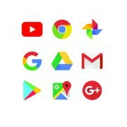 Google Logo Collection Design Free Vector Download