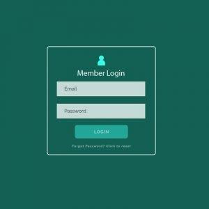 Modern Login Form UI Design For Website And Application