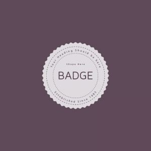 Retro Badge Logo Free PSD Template Mockup Design
